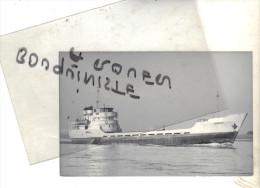 "photo bateau navire identifi� "" MARIKA"" 1947 PHOTO DUNCAN ALLEMAGNE"