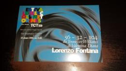 C-40927 TORINO FESTIVAL DELLE COLLINE LORENZO FONTANA - Vari