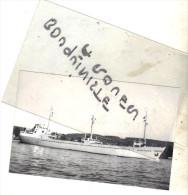"photo bateau navire identifi� "" HELENA HUSMANN "" FRANZ HUSMANN 1965 MAYER PAPENBURG 1974 HAUTOT SUR SEINE ALLEMAGNE"