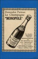 CHAMPAGNE - Publicité Tirée D'une Revue Et Colée Sur Papier - Publicités