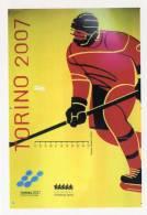 [DC1003] CARTOLINEA - UNIVERSITY SPORTS - TORINO 2007 - GLI STENDARDI DELLE OLIMPIADI - Wintersport
