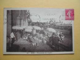 NICE. La Promenade Des Anglais. - Cafés, Hôtels, Restaurants