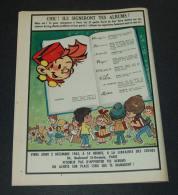 Publicité De 1965 Avec Spirou, Il Annonce Que Franqin, Morris, Roba Etc Seront En Dédicace à Paris - Collezioni