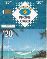 BAHAMAS ISL.(chip) - Salt Cay(BAH C23b), Small Number In Box,  Chip GEM6b, Used - Bahamas