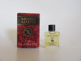 Michèle Martin - Eau De Toilette - Miniatures Modernes (à Partir De 1961)