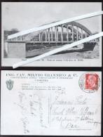 BADOLATO - CATANZARO - 1933 - PONTE SUL TORRENTE VODA' - STATALE JONICA 106 - COSTRUZIONI GIANNICO - COSENZA - Catanzaro