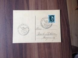 Postkarte ***Drittes Reich 1937 - Berlin  Nationale Ausstellung  *** - War 1939-45