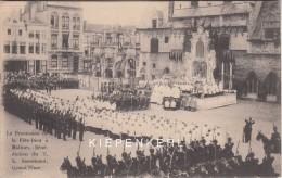 MALINES 1908 LA PROCESSION DE LA FETE-DIEU / BENEDICTION DU T. S. SACREMENT GRAND PLACE / ZEER MOOI *** - Mechelen
