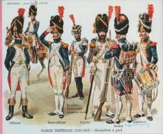 Historex - TENUES - Documentation - Corp De Gendarmeries à Pied De La Garde Impériale N° 1 - Uniformes