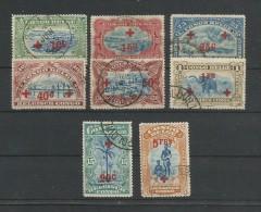 Belgisch-Kongo 1918   Mi.Nr. 33 / 40 ,  - Gestempelt / Used / (o) - 1894-1923 Mols: Gebraucht