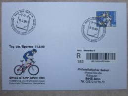 Suisse - Enveloppe - 9 9 99 - Winterthur - Vélo - Switzerland