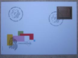 Suisse - Enveloppe - Chocolat - Bern - 2001 - Suisse