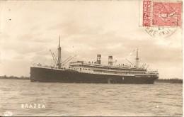 LE BRAZZA Vers 1925 - Steamers