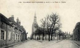 41 CHAUMONT Sur THARONNE  La Place Et  L´Eglise , - France