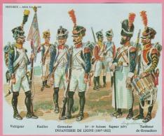 Historex - TENUES - Documentation - Infanterie De Ligne (1807-1812) N° 2 - Uniform
