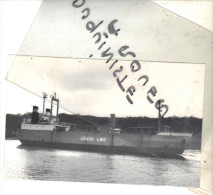 """photo bateau navire identifi� """" OVERBECK """" LUBECK LINIE 1969 KAPPEL GD COURONNE 1975 Allemagne"""