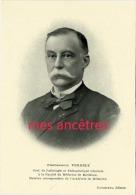 Série Nos Maîtres-professeur VERGELY Pathologie Et Thérapeutique Générale Faculté Médecine Bordeaux - Collections