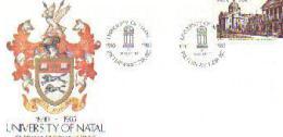 RSA 1985 Enveloppe University Of Natal  Mint F1485 - Covers & Documents