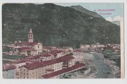 SAN PELLEGRINO BERGAMO PANORAMA F/P VIAGGIATA 1908 - Italia
