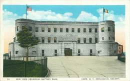 NEW YORK AQUARIUM, Battery Park. - Autres Monuments, édifices