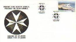 REPUBLIC OF SOUTH AFRICA 1983 Cover Order St. John Ambulance F1474 - Accidents & Road Safety