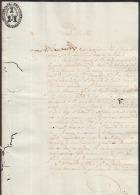 *BE410 CUBA SPAIN ESPAÑA CAPTAIN GENERAL 1833. MARIANO RICAFORD PALAC SIGNED DOC - Autographs