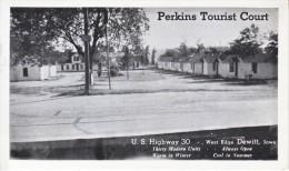 ROADSIDE  AMERICANA  TOURIST  COURT  DEWITT,  IOWA  MINT - American Roadside