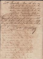 *BE422 CUBA SPAIN ESPAÑA CAPTAIN GENERAL 1881 ARSENIO MARTINEZ CAMPOS SIGNED DOC - Autographs