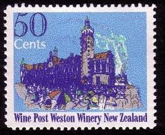 New Zealand Wine Post Dunedin Railway Station - New Zealand