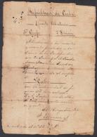 *BE437 CUBA INDEPENDENCE WAR GENERAL DE BRIGADA FERNANDO ESPINOSA SIGNED 1898 - Autographs