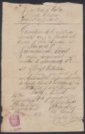 *BE456 CUBA INDEPENDENCE WAR TENIENTE CORONEL TORIBIO GOMEZ 1898 - Autographs