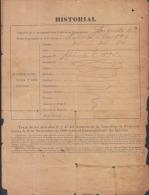 *BE462 CUBA INDEPENDENCE WAR GENERAL DE BRIGADA HIGINIO ESQUERRA 1899 - Autographs