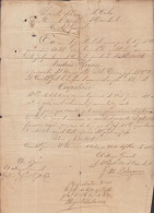 *BE467 CUBA INDEPENDENCE WAR MAYOR GEN MAYIA RODRIGUEZ + COR MIGUEL IRIBARREN - Autographs