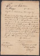 *BE468 CUBA INDEPENDENCE WAR CORONEL ANGEL DEL CASTILLO QUESADA SIGNED DOC 1898 - Autographs