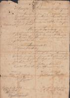 *BE469 CUBA INDEPENDENCE WAR GENERAL DE BRIGADA BERNARDO CAMACHO SIGNED 1898 - Autographs