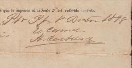 *BE479 CUBA INDEPENDENCE WAR GENERAL DE BRIGADA ADOLFO ALUREANO DEL CASTILLO 189 - Autographs
