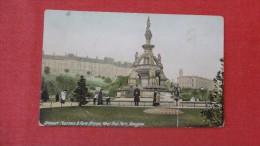 Scotland>   Glasgow  --reStewart Fountain  Has Creasef 1887