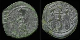 Constantine X And Eudocia AE Follis - Byzantine