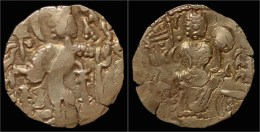 Kushan Kingdom Kidarites AV Dinar - Indisch