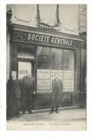 YVELINES  /  MEULAN  /  LA  SOCIETE  GENERALE  ( Devanture De Banque ) /  Edit.  J. KLEIN - Meulan