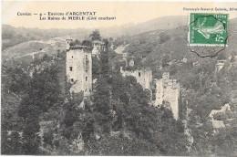 Environs ARGENTAT - 19 - Les Ruines De MERLE Coté Couchant - ENCH33 - - Argentat