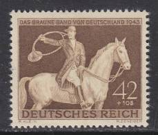 Germany B243  *  HORSE RACING - Unused Stamps