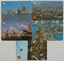 SINGAPORE - GPT - Set Of 5 - 8SIGB To F- Mint - Singapore