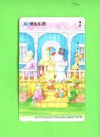 JAPAN - Magnetic Phonecard/Moomin Characters - Japan