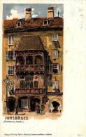 [DC4706] CARTOLINA - AUSTRIA - INNSBRUCK - GOLDENES DACHL - Viaggiata - Old Postcard - Austria