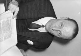 Photo  De Presse -  Monsieur  SCHMEICK  Avocat Général De La Cour De Cassation En 1972 - Geïdentificeerde Personen