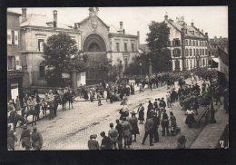 67 HAGUENAU RENTREE DU 71e RI VENANT DE SELTZ SUR LE RHIN LE 30 JUIN 1919 - Autres Communes