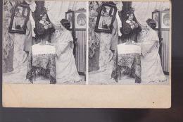CARTE STEREO FEMMES - Cartes Postales