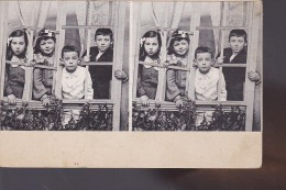 CARTE STEREO ENFANTS - Cartes Postales