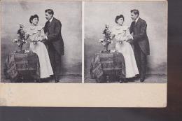 CARTE STEREO COUPLE - Cartes Postales